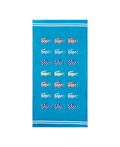 Lacoste Sunny Beach Towel, Turquoise