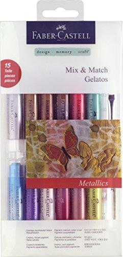 Faber Castell gelatos Mix und Match Crayon–Metallic