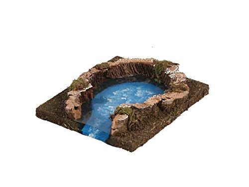 Bertoni little lake, legno, taglia unica