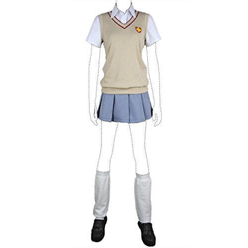 Misaka Kostüm Mikoto Cosplay - A Certain Scientific Railgun Misaka Mikoto Costume Set All