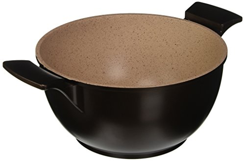 Tognana 24 cm et Casserole de cuisine idéal, Bordeaux/marron