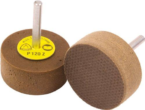KLINGSPOR Elastische Schleifmittel RFS 651, 40 x 15 x 6 mm, 10 Stück, korn 120, 14007