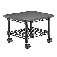 Safco Wire Under Desk Machine Stand - Black
