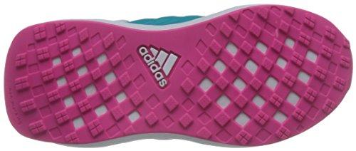 adidas Unisex-Kinder Rapidarun K Turnschuhe Blau (Azuene/rosimp/mensen)