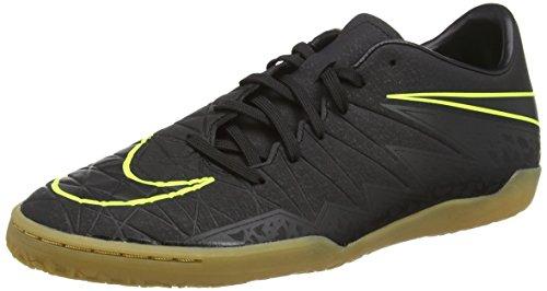 Nike Herren Hypervenom Phelon II IC Fußballschuhe, Schwarz (Black/Black), 43 EU