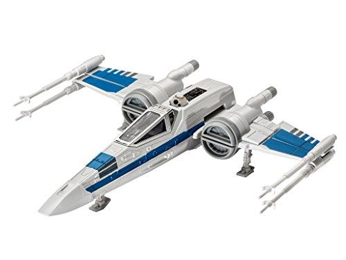Revell-Modellbausatz-Star-Wars-Resistance-X-wing-Fighter-im-Mastab-178-Level-1-originalgetreue-Nachbildung-mit-vielen-Details-Build-Play-mit-LightSound-zum-Bauen-Spielen-06753