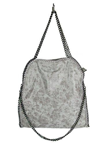 borsa-da-donna-tre-catene-stella-inspired-ecopelle-grigio