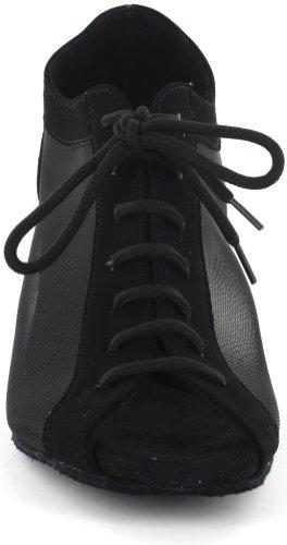 dsol Damen Praxis Dance Schuhe dc264301 Schwarz