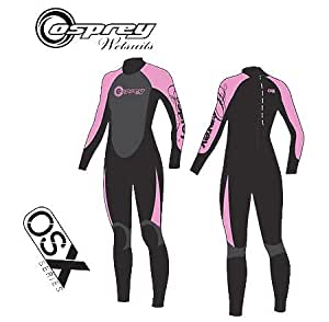 (Osprey) Ladies OSX Full Wetsuit Chest 35.5 160-165cm (White)""
