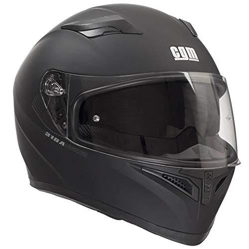 Cgm casco integrale 316a tampere nero opaco, m