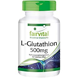 L-Glutathion 500mg - 90 comprimés végans