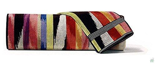 Telo bagno 100x150 cm Missoni Home Homer var.156 strisce multicolori