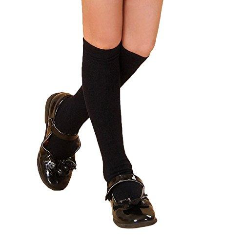 Butterme 1 Paar Herbst Winter Unisex Kinder Cotten Streifen Knee High Schlauch Socken für Baby Kleinkind Kind Mädchen Jungen (35CM)