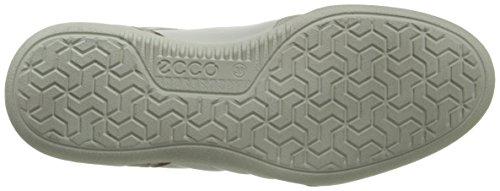 ECCO - Enrico, Sneaker basse Uomo Bianco (Weiß (Shadow White/White/Shadow White59132))