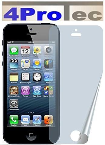 2 Stück GEHÄRTETE ANTIREFLEX Displayschutzfolie für Apple iPhone SE, 5,