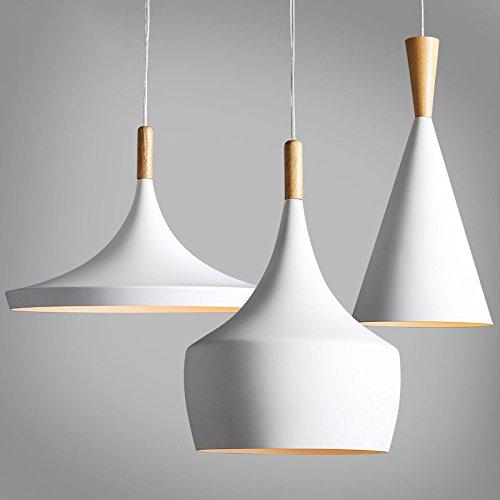 TIANLIANG04 Lustres Lustre De Bois Les Lampes Et Les Lanternes Lustres Restaurant Bar Aluminium Blanc,B Paragraph