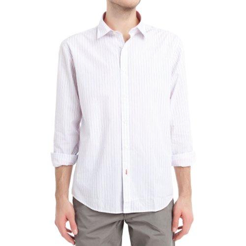 SPRINGFIELD - Chemise manches longues en popeline de coton avec une poche - Homme Lavande