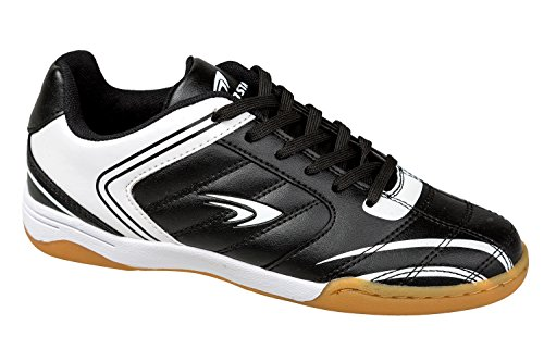 gibra, Scarpe indoor multisport donna Schwarz/Weiß