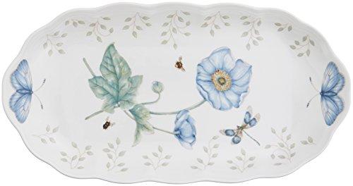 Lenox Butterfly Meadow Abfallkorb, Porzellan, Mehrfarbig, Towel Tray Butterfly Meadow China