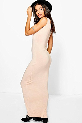 Cannelle Femmes Rachel V Neck Sleeveless Maxi Dress Cannelle