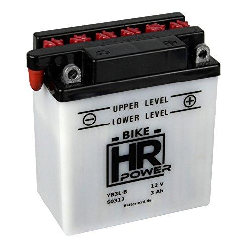 Motorrad Batterie Starterbatterie 12V 3Ah YB3L-B 50313