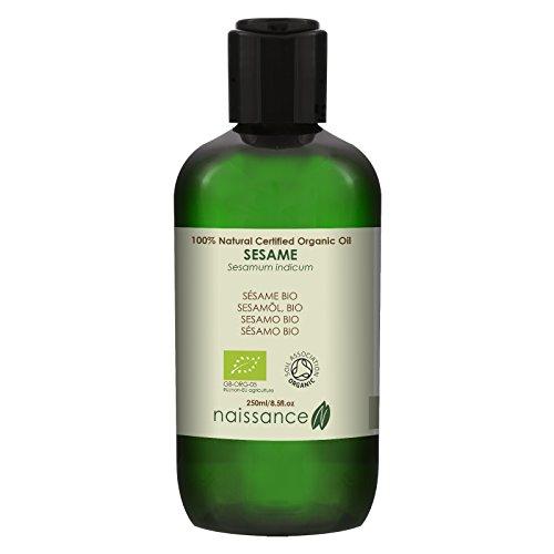 Naissance Huile Végétale de Sésame Certifiée BIO 100% naturelle - 250ml