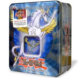 YuGiOh GX 2007 Collector's Tin Series 1 Crystal Beast Sapphire Pegasus (OUT O...