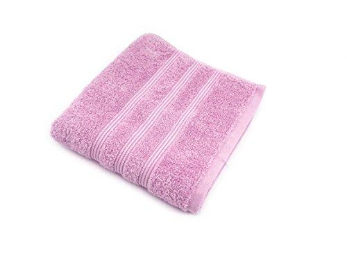 Irya Coresoft Classy Gästehandtuch, Baumwolle, rosa, 30 x 50 cm