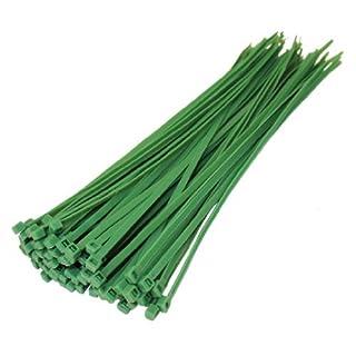 All Trade Direct Kabelbinder, 300 mm x 4,8 mm, 100 Stück grün