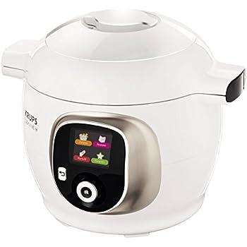 Krups CZ7101 Multikocher Cook4Me+ (6 L, 1600 W) weiß/grau