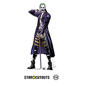 DC Comics Star Cutouts SC889 la Gotham de Joker supervillano Comic Art cartón Cut Out