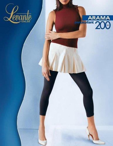 Levante Arama 200 Leggings Bianco