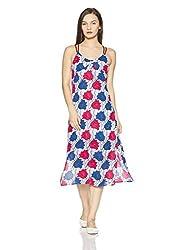 Tommy Hilfiger Womens A-Line Dress (A7AJV114_Pop Art Flower Print_M)
