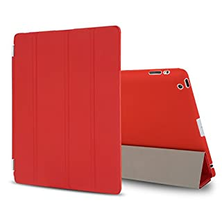 Besdata® Funda Carcasas diseñado poliuretano para Apple iPad 2/3/4 Apple iPad Smart Cover (NO es para iPad Air 2) Rojo - PT2603 (B00CB7SJNK) | Amazon price tracker / tracking, Amazon price history charts, Amazon price watches, Amazon price drop alerts
