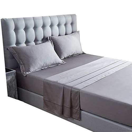 LFY Matratzenschoner aus Baumwolle, Schutzüberzug, Queen-Size-Bettbezug Bettdecke (Farbe : Gray)