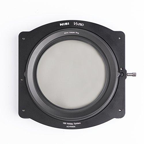 NiSi V5-PRO Filterhalter Kit 100mm-System - inkl. NiSi CPL (86mm) Zirkular Polarisationsfilter und Adapterringen