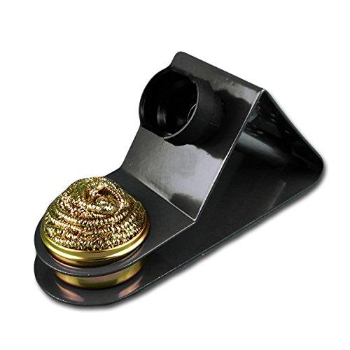 MC POWER Soporte para Soldador con Separador de estaño