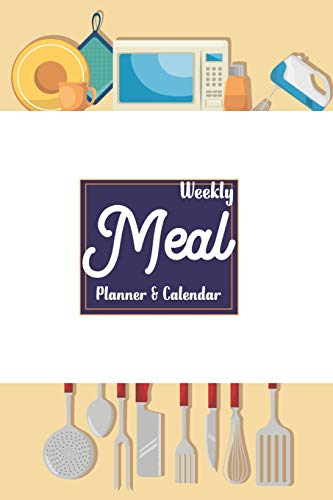 weekly meal planner and calendar: 52 weeks about grocery list for shopping fo make food with happy family (Fo-stein)