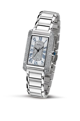 Philip Ladies Patton Analogue Watch R8253160543 with Quartz Movement, White Dial and Stainless Steel Case