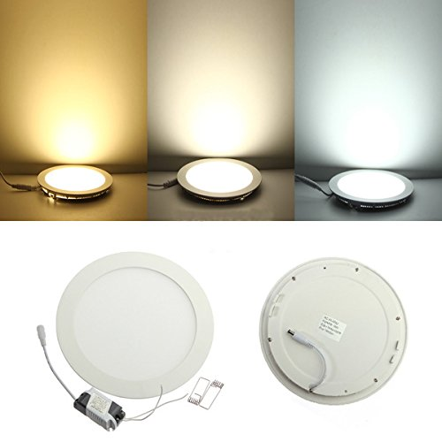Light Energy Saving Lamp (ILS - Dimmbare Ultra Thin 18W LED-Decken Round Panel-Down-Licht-Lampe)