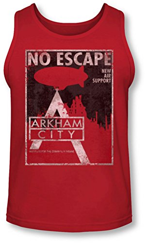 Arkham City - Herren No Escape Tank-Top Red