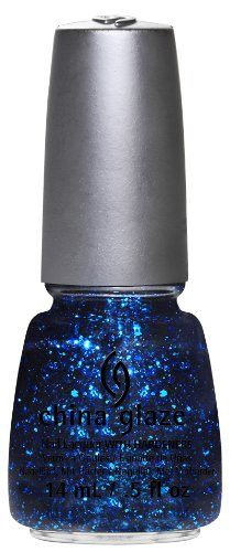 China Glaze Mosaic Madness Blue Nail Polish 14ml