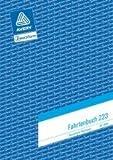 Avery Zweckform© 223 Fahrtenbuch, DIN A5, steuerlicher km-Nachweis, 40 Blatt, weiá