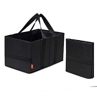achilles Smart-Box, Einkaufstasche im handlichen Format, Einkaufsbox, Einkaufskorb, carry bag, Faltkorb in schwarz, 37 cm x 20 cm x 23 cm