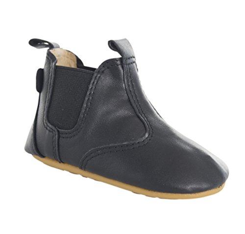 MOVE Prewalker Chelsea Lauflernschuh Unisex, Chaussures Marche Mixte Bébé Noir - Schwarz (BLACK190)