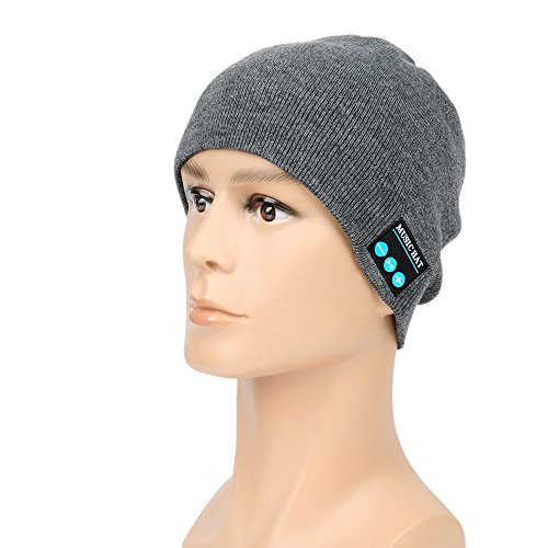 Bluetooth Cappello Cuffia Musica MP3 Audio Bluetooth Wireless