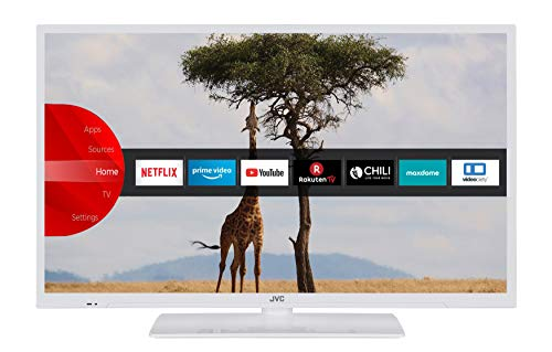 JVC LT-32V54LWA 81 cm (32 Zoll) Fernseher (HD-Ready, Triple-Tuner, Smart TV, Prime Video, Bluetooth)