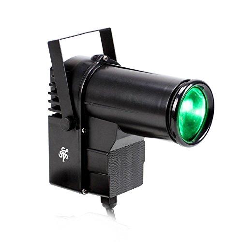 TSSS RGBW LED Strahler 10 Watt Pinspot DJ Effekt Bühnenbeleuchtung DMX Lampe Licht Hochzeit Familie Geburtstags Party Feiern Veranstaltung Lichteffekt -