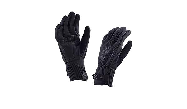 FR : M Taille Fabricant : M Noir//Noir Sealskinz 121150800120 Gants Mixte Adulte