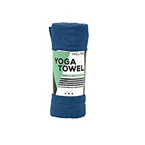 Incline Fit Steigung Passform Yoga Handtuch, Unisex, Yoga